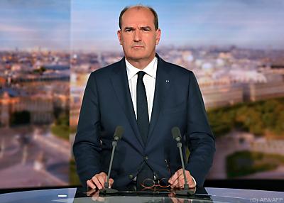 Frankreichs Premier Jean Castex  - Boulogne-Billancourt, APA/AFP