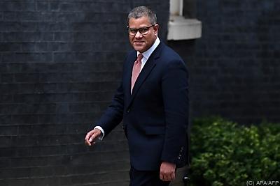 COP26-Präsident Alok Sharma mahnt Anstrengungen vor Klimagipfel ein  - London, APA/AFP