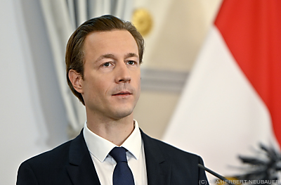 Finanzminister Gernot Blümel  - Wien, APA/HERBERT NEUBAUER