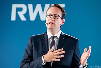RWE-Vorstandschef Markus Krebber  - Essen, APA/dpa
