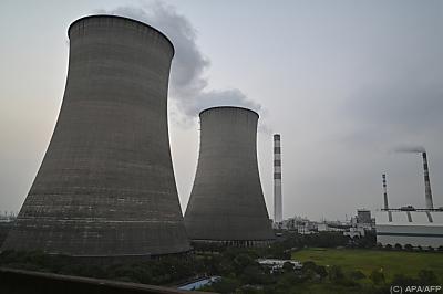Eine Kohlekraftwerk in China  - Shanghai, APA/AFP