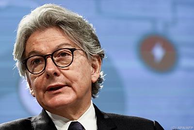 EU-Binnenmarktkommissar Thierry Breton  - Brussels, APA/AFP