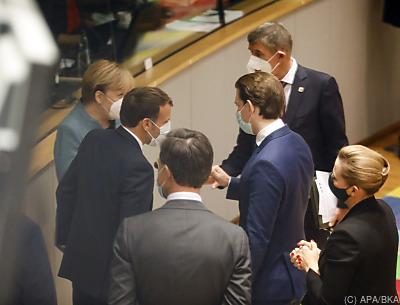 Staats- und Regierungschef beim Gipfel in Brüssel  - Brüssel, APA/BKA
