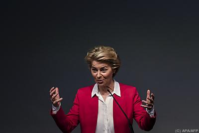 Ursula von der Leyen  - Lisbon, APA/AFP