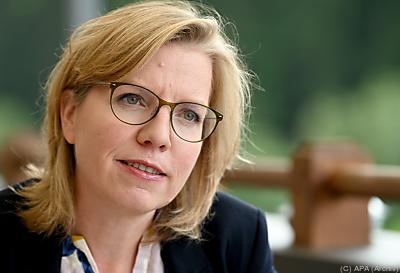 """Leonore Gewessler: """"Klimaschutz ist ein absoluter Job-Motor""""  - Alpbach, APA (Archiv)"""