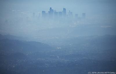 Smog hüllt Los Angeles ein  - Pasadena, APA (Archiv/AFP/Getty)