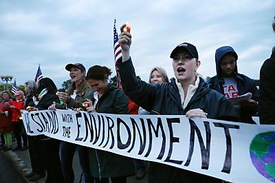USA könnten zum Pariser Klimaabkommen zurückkehren  - Westport, APA (Archiv/AFP)
