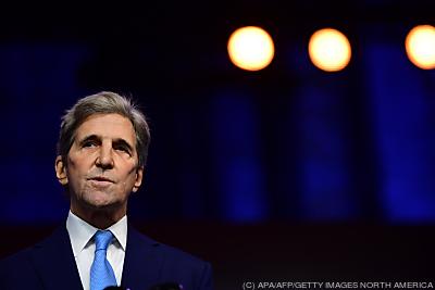 Klima-Sonderbeauftragter John Kerry  - Wilmington, APA/AFP/GETTY IMAGES NORTH AMERICA
