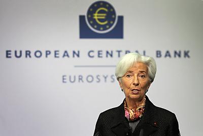 EZB-Präsidentin Christine Lagarde  - Frankfurt am Main, APA/AFP