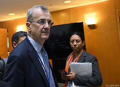 Frankreichs Notenbankchef Francois Villeroy de Galhau  - Washington, APA/AFP