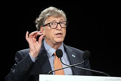 Bill Gates will Milliarden in den Klimaschutz investieren  - Lyon, APA (AFP)