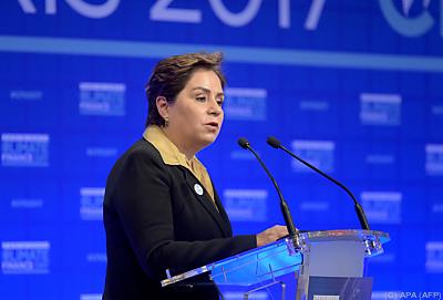 Generalsekretärin des UN-Klimasekretariats, Patricia Espinsosa  - Paris, APA (AFP)