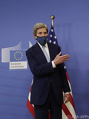 """Kerry forderte mehr Anstrengungen: """"Paris allein reicht nicht""""  - Brussels, APA (AFP)"""