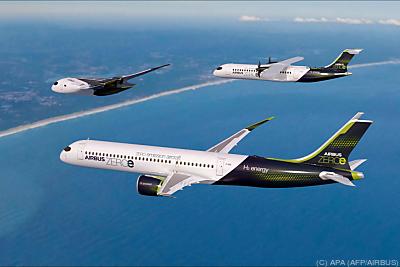 Airbus will nachhaltigen Flugkraftstoff SAF testen  - Toulouse, APA (AFP/AIRBUS)