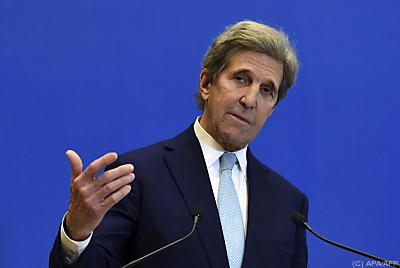 US-Klimabeauftragter John Kerry  - Paris, APA/AFP