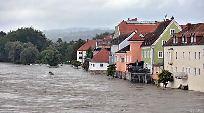 Klimabedingt häufen sich starke Regenfälle  - Schärding, APA