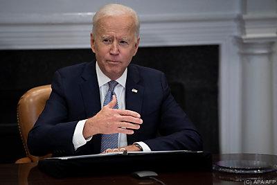 Biden ist gefordert  - Washington, APA/AFP