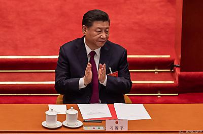 Chinas Präsident Xi Jinping  - Beijing, APA/AFP