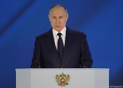 Russlands mächtiger Mann, Vladimir Putin  - Moscow, APA/Sputnik