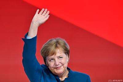 Deutschlands Kanzlerin Angela Merkel - Hamburg, APA/AFP