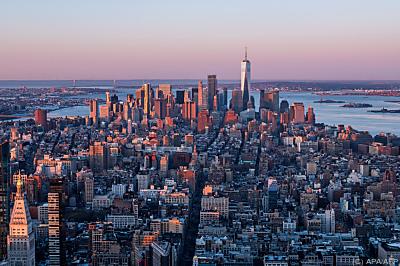 Blick über Manhattan  - New York, APA/AFP