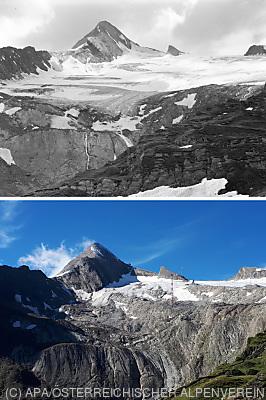 Akteure uneins über Gletscherschwund  - Innsbruck, APA/ÖSTERREICHISCHER ALPENVEREIN