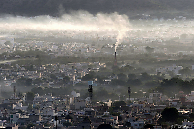 China legt bei CO2-Äquivalenten zu  - Ajmer, APA/AFP
