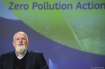 Klimakommissar Frans Timmermans  - Brussels, APA/POOL