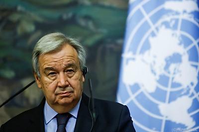 UN-Generalsekretär Antonio Guterres  - Moscow, APA/POOL