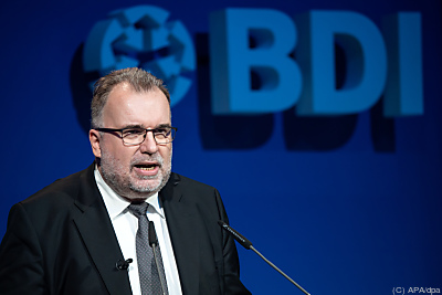 BDI-Präsident Siegfried Russwurm  - Berlin, APA/dpa