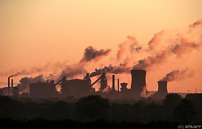 Treibhausgase wirken in den verschiedenen Atmosphärenschichten unterschiedlich  - Scunthorpe, APA/AFP