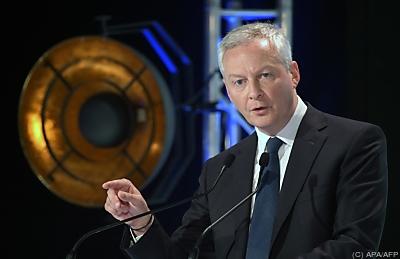 Frankreichs Finanzminister Bruno Le Maire  - Paris, APA/AFP