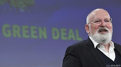 EU-Kommissionsvizepräsident Frans Timmermans  - Brussels, APA/AFP