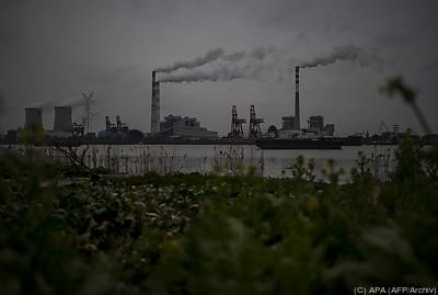 Durch den Handel will China seine Klimaziele erreichen  - Shanghai, APA (AFP/Archiv)