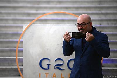 Der italienische Fachminister Roberto Cingolani  - Naples, APA/AFP