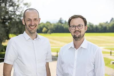 Professor Christoph von Hagke (links) und Dr