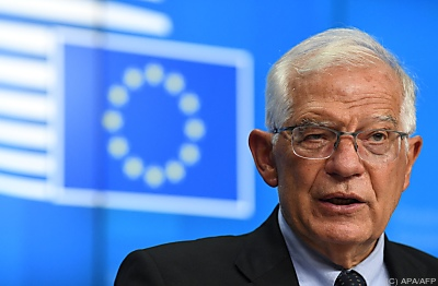 Der EU-Außenbeauftragte Josep Borrell  - Brussels, APA/AFP