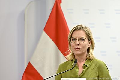 Klimaschutzministerin Leonore Gewessler  - Wien, APA/HERBERT NEUBAUER