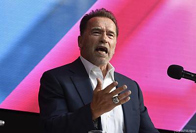 Arnold Schwarzenegger während der Digital X - Köln, APA/dpa