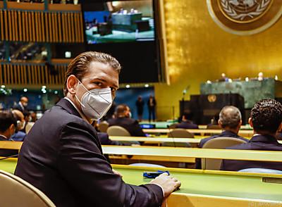 Sebastian Kurz in New York  - New York, APA/BKA