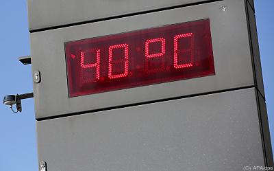 Eine 1960 geborene Person erlebt im Schnitt nur etwa zwei bis sechs Hitzewellen  - Hamburg, APA/dpa