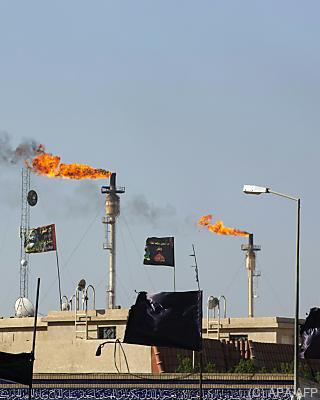 Gas wird abgefackelt  - Basra, APA/AFP