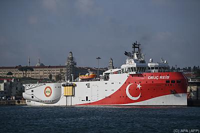 """Die """"Oruc Reis"""" entfacht Streit zwischen Griechenland und der Türkei  - Istanbul, APA (AFP)"""