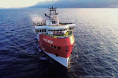 Die Oruc Reis soll länger auf hoher See bleiben  - Antalya, TURKISH DEFENCE MINISTRY