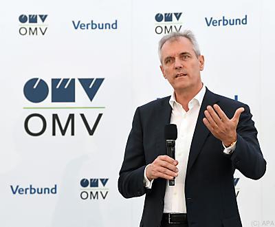 OMV-Chef Rainer Seele  - Schönkirchen-Reyersdorf, APA