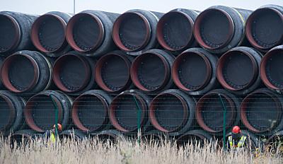 Rohre für die Ostsee-Gaspipeline  - Sassnitz-Mukran, APA/dpa