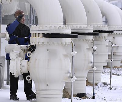 Erdgas-Hub in Baumgarten (NÖ)  - Baumgarten an der March, APA
