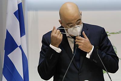 Nikos Dendias fordert EU-Waffenembargo gegen Türkei  - Nicosia, APA (AFP)