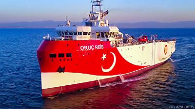 Forschungsschiff wird nicht vor griechischen Inseln nach Erdgas suchen  - Antalya, APA (AFP)