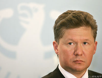 Gazprom-Chef Alexej Miller  - BERLIN, APA/AFP